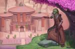 Jedi Ishayn Aukai and the temple