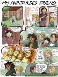 My Avatar Friend pg 1