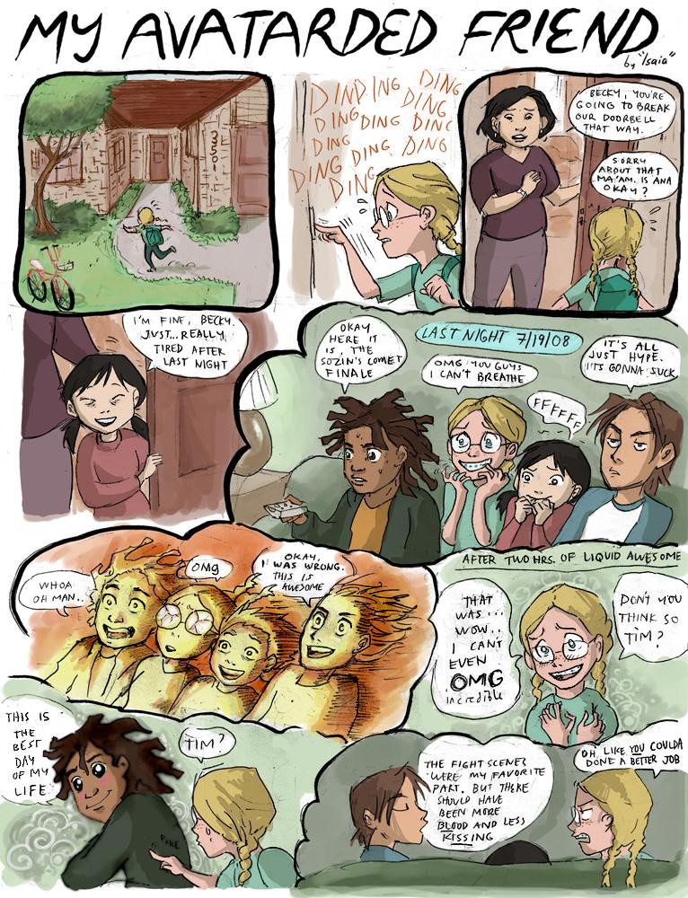 My Avatar Friend pg 1 by Isaia
