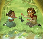 Princess and the Frog Fanart