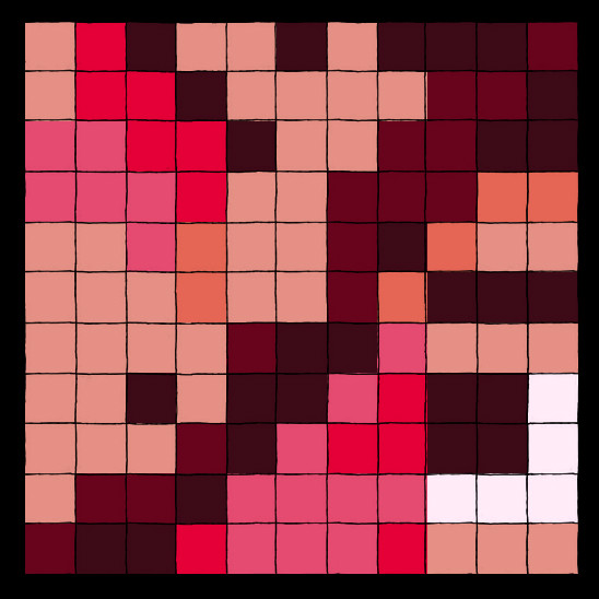 pixel love by Isaia