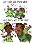 Tsundere Frogs