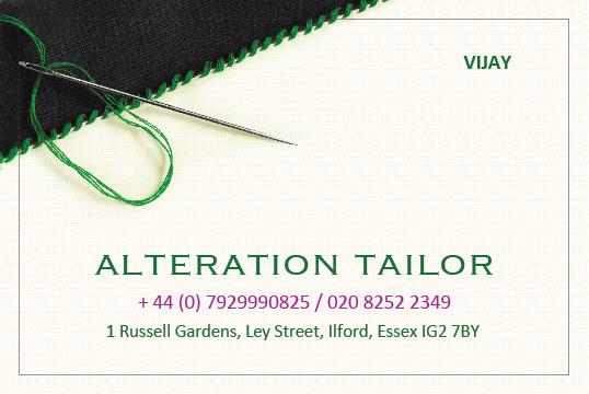 Alteration Tailor Business Card by pixelstudioct on DeviantArt