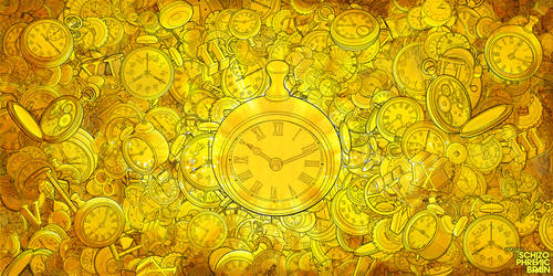 Golden Time by schizophrenic-brain