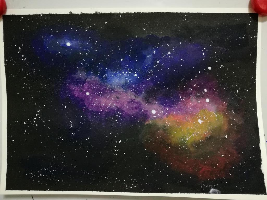 Night Sky by mafer-seow-wayn