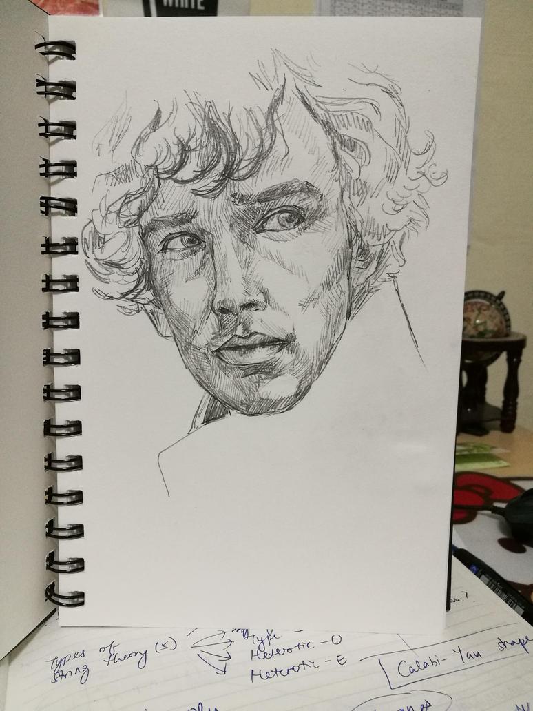 Benedict Cumberbatch by mafer-seow-wayn