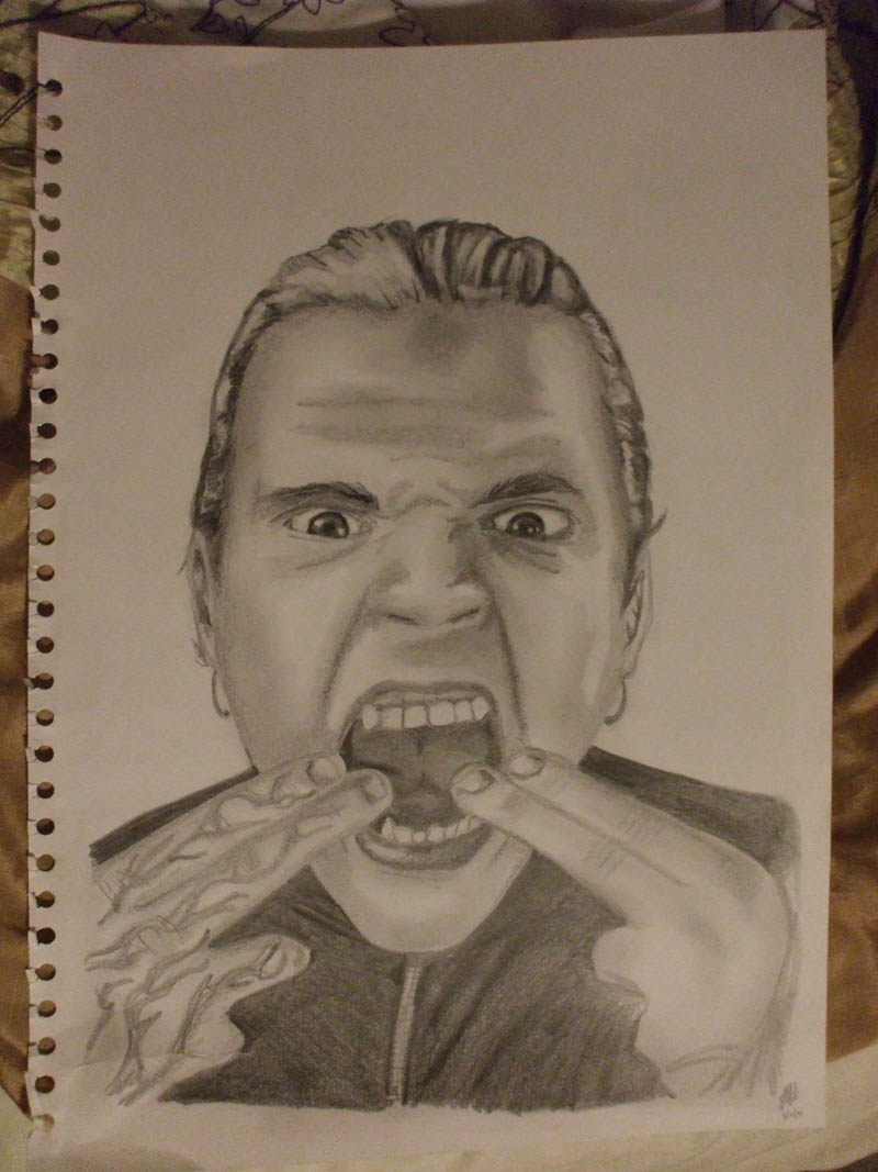 Jeff Hardy by ~JoeyAngel on
