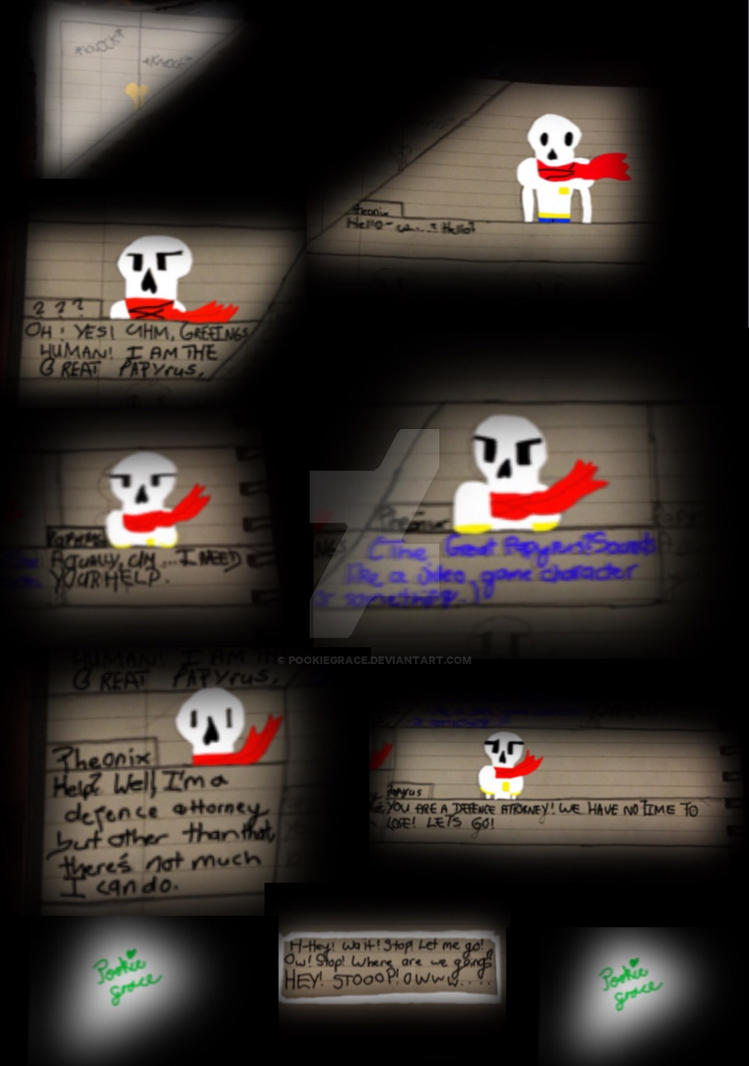 Turnabout Tale - Investigation: Day 1 {Part 1} by PookieGrace