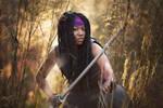 Michonne by starrfallphotography