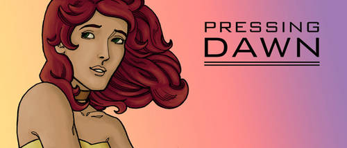 Pressing Dawn title