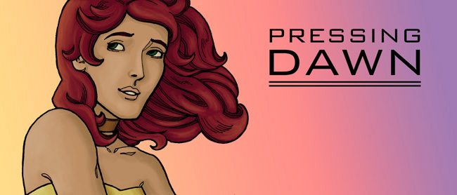 Pressing Dawn title by lierne