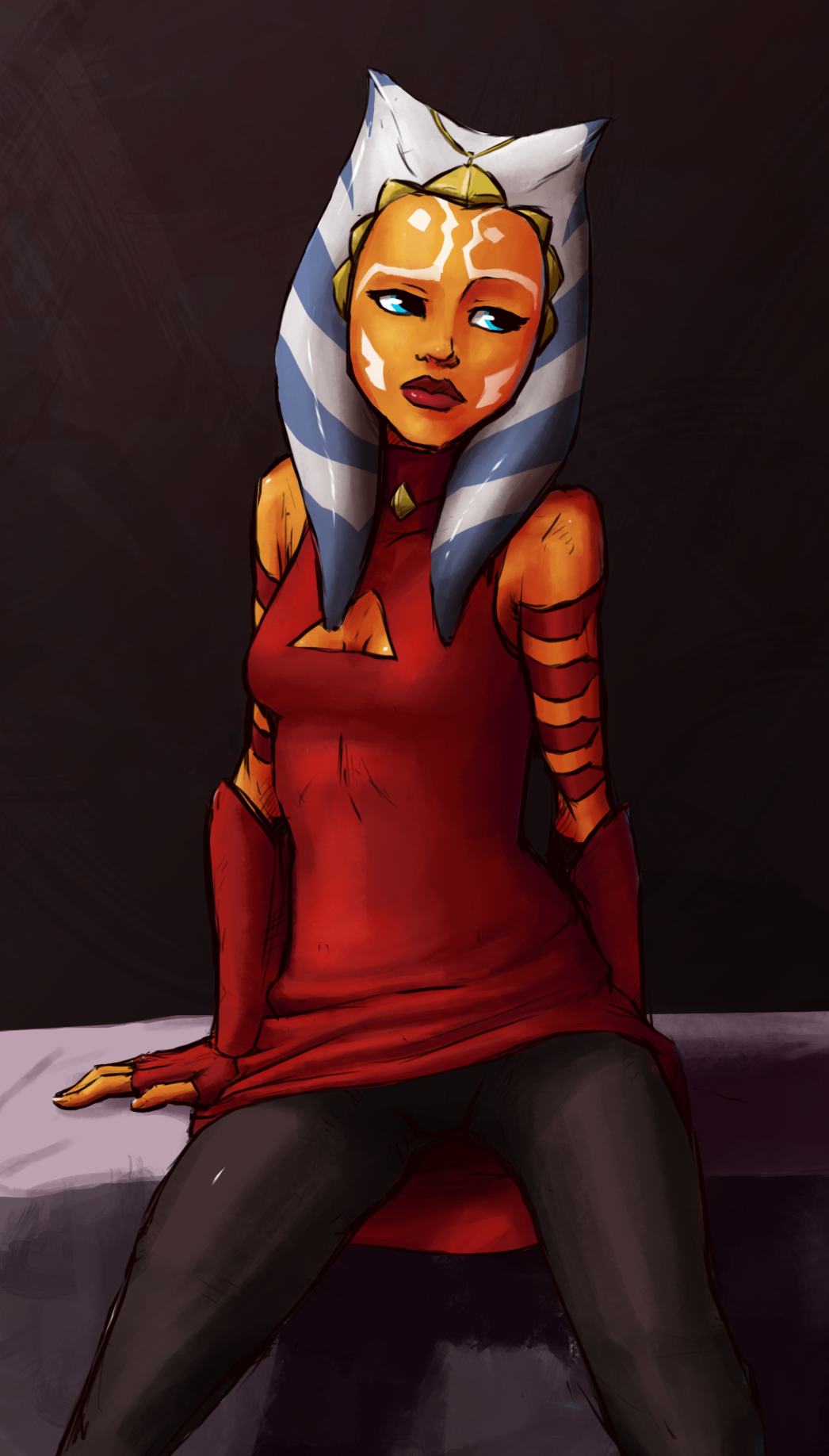 Ahsoka Tano 3 by Tourbillon-da