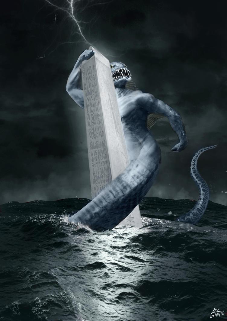 Dagon The Fish God by Monifabi