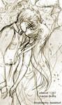 Kaname and Sousuke Kiss