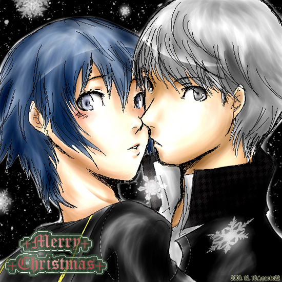 Persona 4 Christmas by IchiRuki22