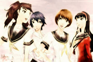 Persona 4 Girls