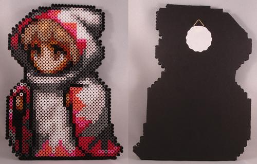 Beadsprite White Mage Final Fantasy I by SlashBite