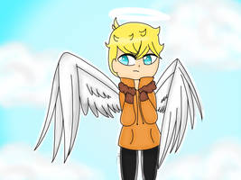 Kenny McCormick remake (old digital art ) by therealkizzy