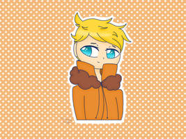 Kenny McCormick bunny part.2 (old art ) by therealkizzy