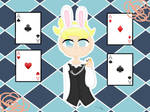 Butters as a white rabbit (kinda new )