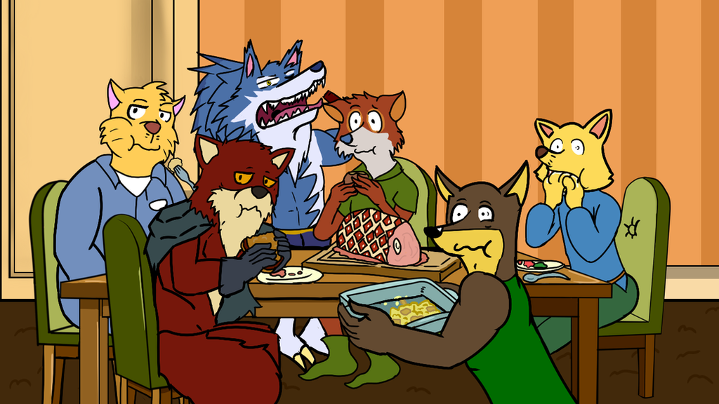 Dinner with Friends by kobaiy7598
