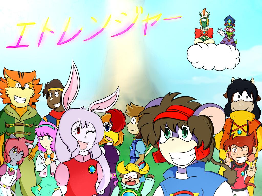 Juuni Senshi Bakuretsu Eto Rangers!! by kobaiy7598