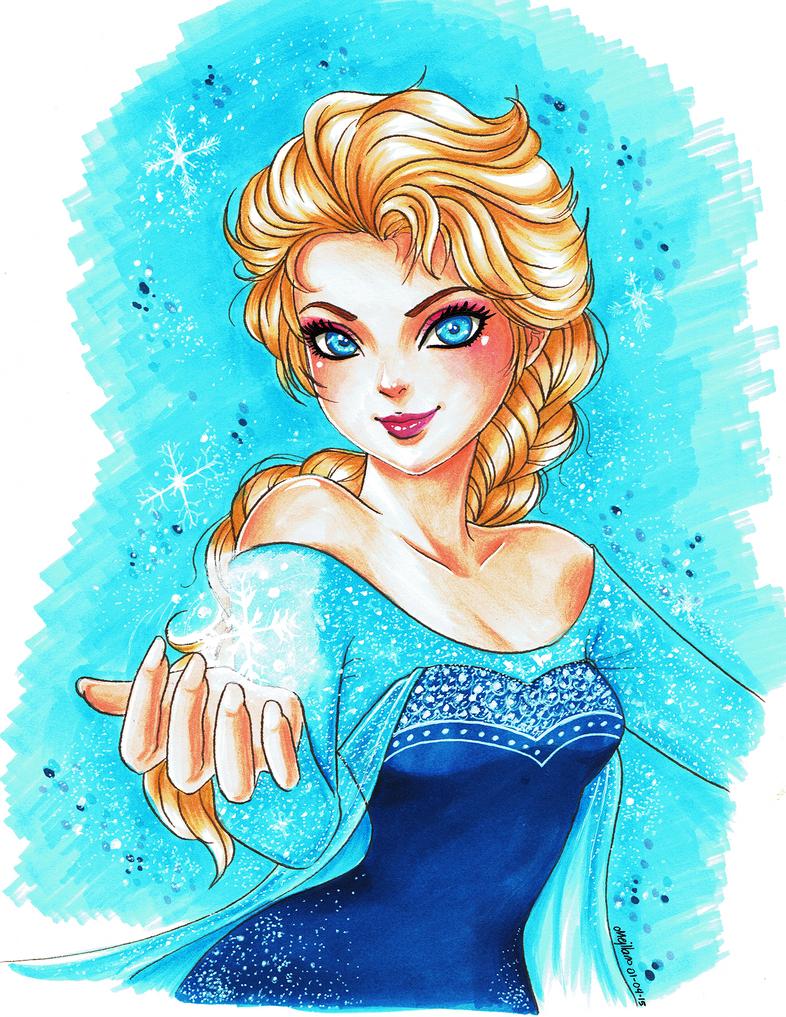Fanart: Elsa by mejllano