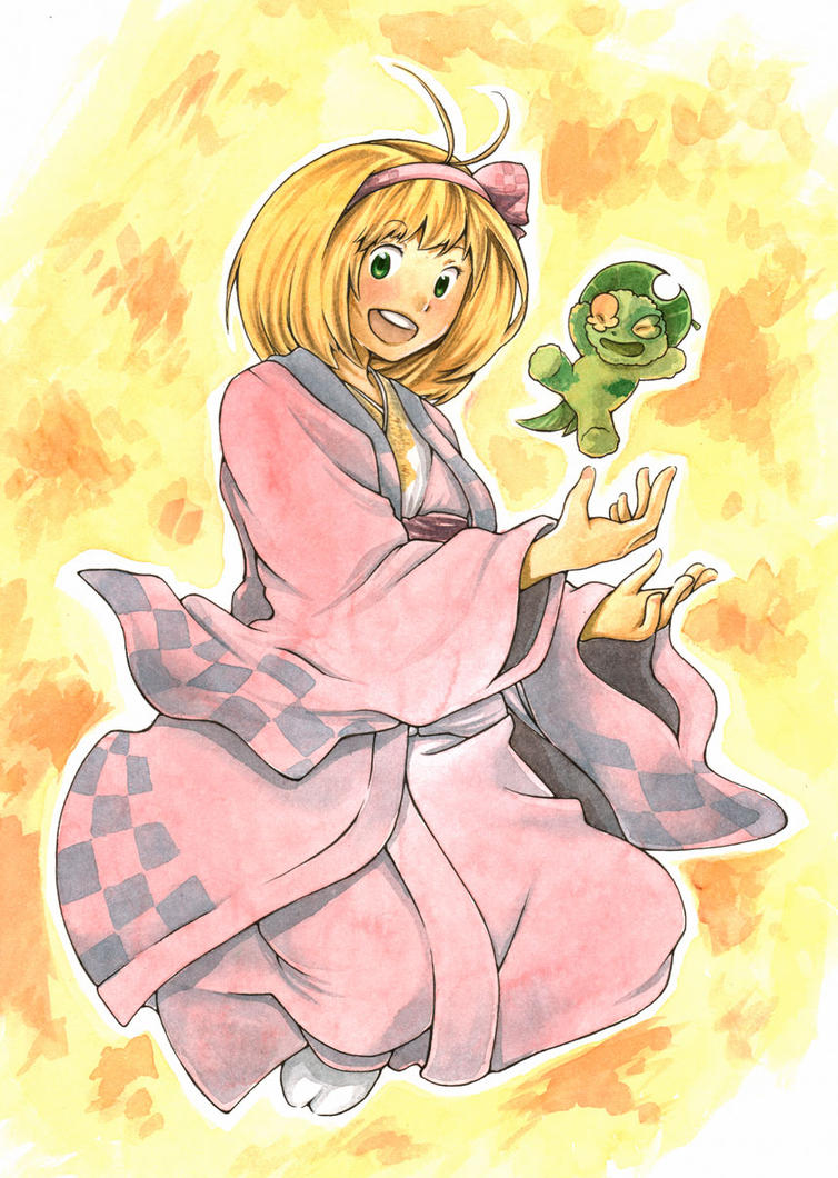 Shiemi by spellrose