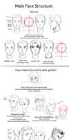 HowTo Male Faces 001
