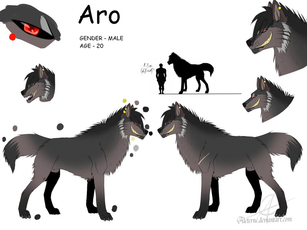 Aro refsheet by Aleterne