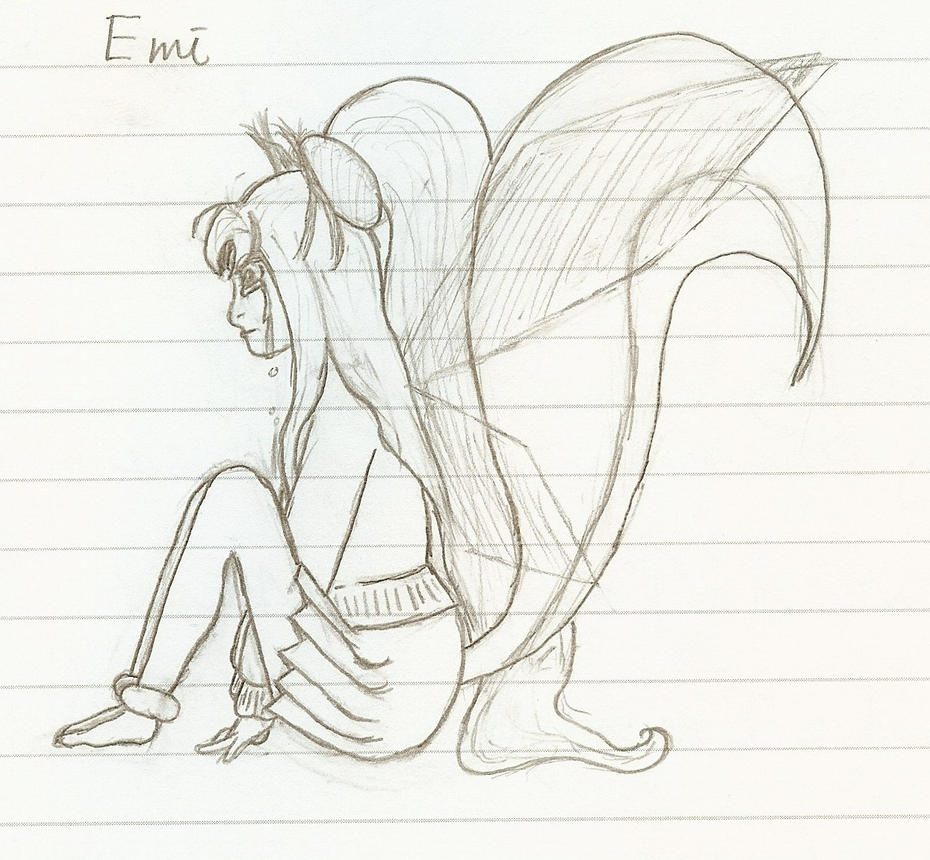 Line Art Emui : Character sketch emi line art by kazenoshun on deviantart