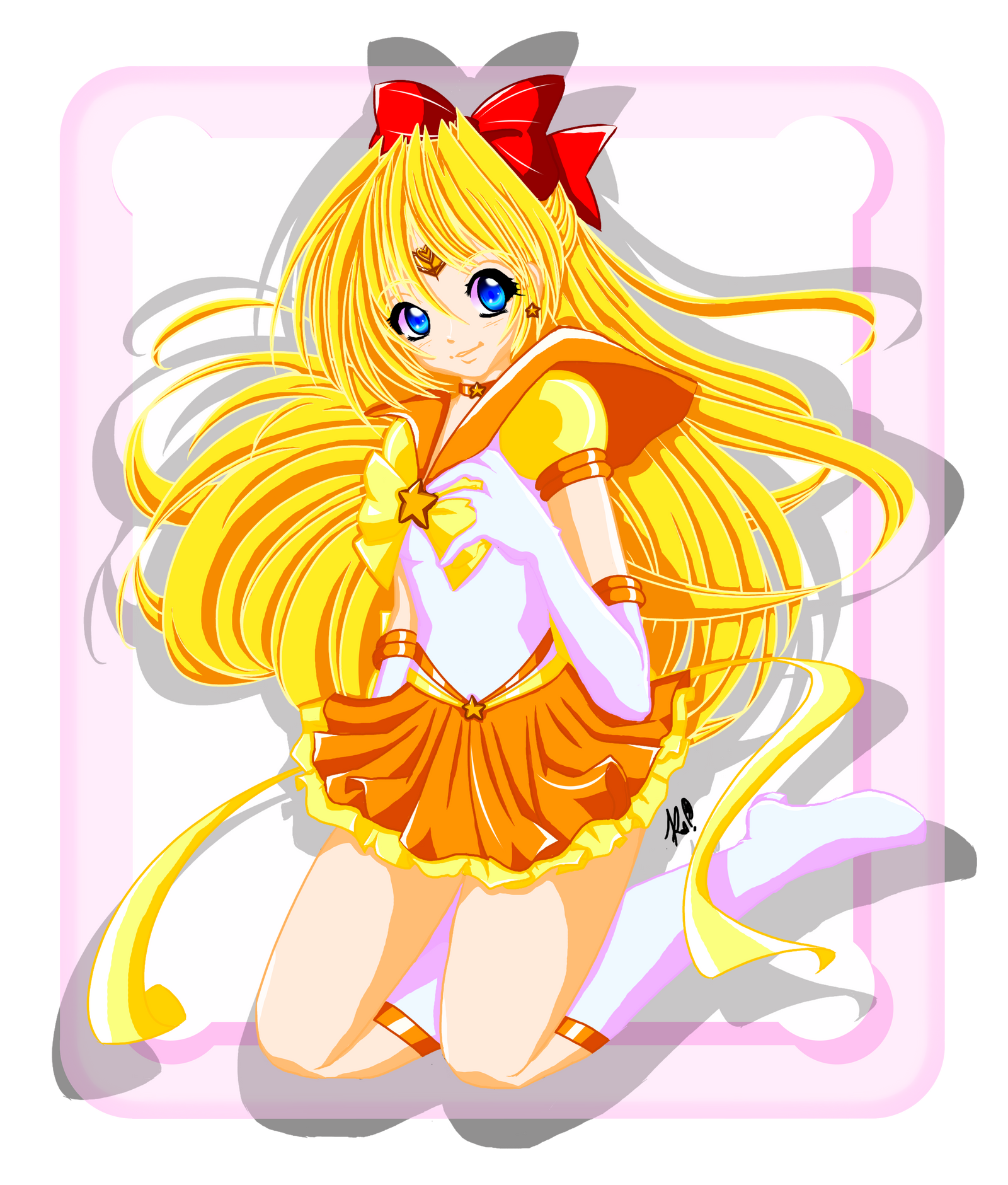 Eternal Sailor Venus by KazenoShun