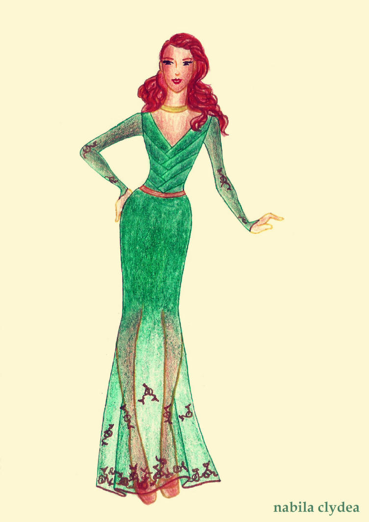 Disney Fashion: Merida by nabilaclydea
