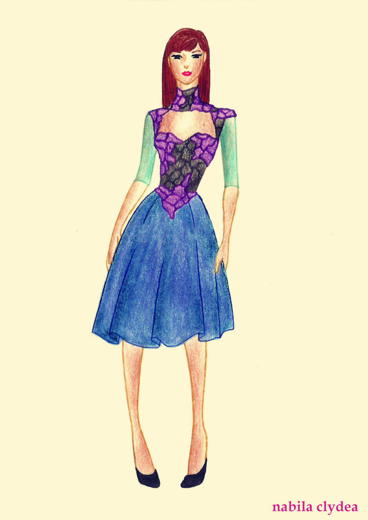 Disney Fashion: Anna by nabilaclydea