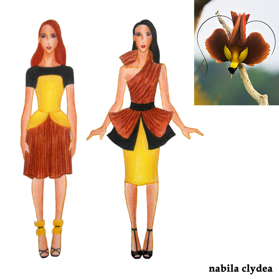 bird of paradise fashion red bird of paradise by nabilaclydea on deviantart. Black Bedroom Furniture Sets. Home Design Ideas