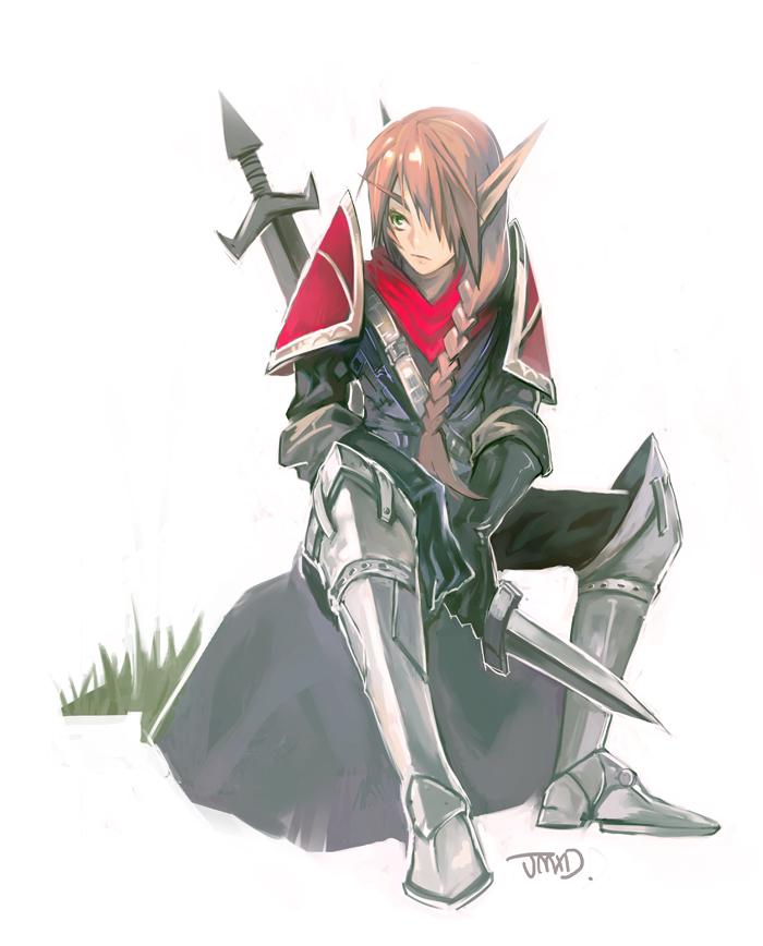 Blood Knight by JMXD