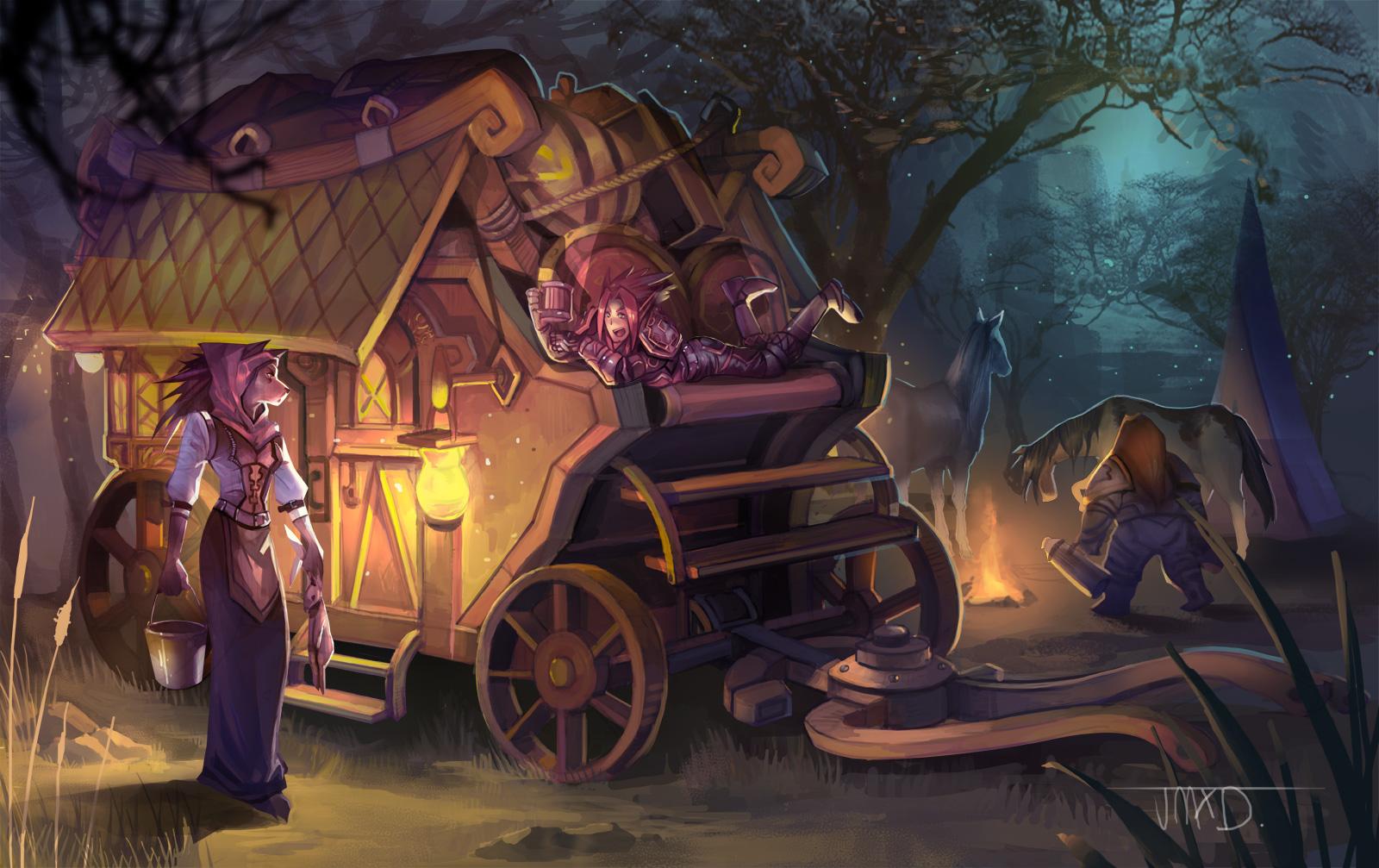 Fiona's Caravan by JMXD