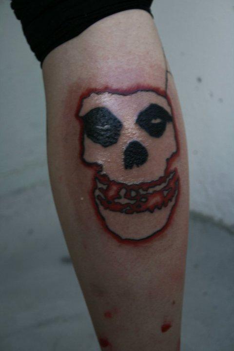 misfits tattoo by 60002 on DeviantArt Misfits Skull Tattoo