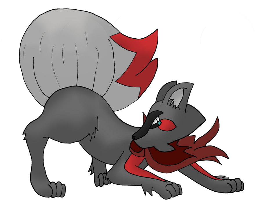 Fakemon: 005 Embunter V3 by bubblewrap-pancakes