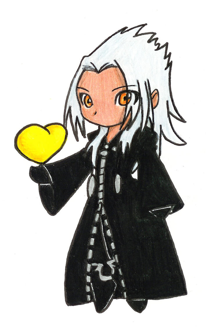 Xemnas Chibi by AnubisSilvermoonXemnas Kingdom Hearts Chibi