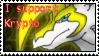 Krypto, the last draxy - Stamp by kryptangel92