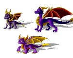 .: Three Spyro:.