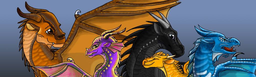 The Dragonets of Destiny by AprilSilverWolf