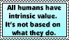 Intrinsic Value Stamp by AprilSilverWolf