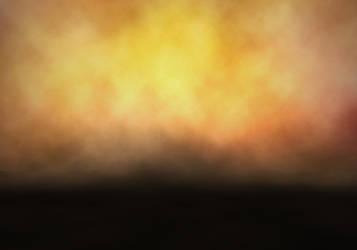 Large Orange fire Background