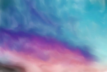 Painted Skys Sunset Background