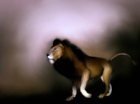 Moving Lion variation 3