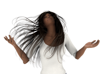 Prayer and Praise 3d Woman png