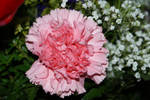 pink flower mothers day bunch