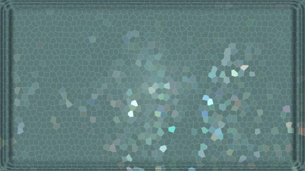 Mosaic art textures green